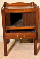 18th Century Mahogany Commode Bedside Cabinet (4 of 5)