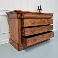 Beautiful Figured Elm French Commode c.1850 (3 of 9)
