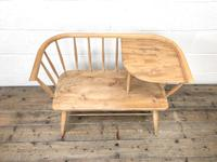 Mid Century Hall Bench or Telephone Table (4 of 13)