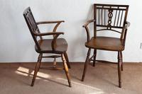 Pair of Ash & Fruitwood Mendlesham Chair (6 of 7)