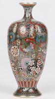 Oriental, Chinese / Japanese Exceptional Silver Metal Cloisonne Vase (7 of 25)