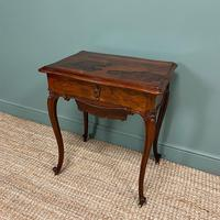 Spectacular Quality Victorian Rosewood Antique Work Table (8 of 8)