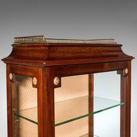 Antique Raised Pier Cabinet, English, Mahogany, Display Case, Edwardian, C.1910 (7 of 12)