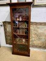 Late Victorian Bookcase with Glazed Door & Adjustable Shelves (7 of 7)