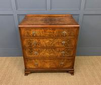 Burr Walnut Chest of Drawers (5 of 13)