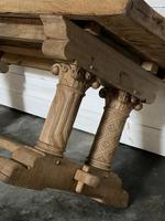 Extremely Rare Large Oak Refectory Table (35 of 35)