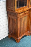 19th Century Victorian Mahogany Breakfront Bookcase (11 of 11)