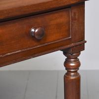 Quality George IV Mahogany Side Table (5 of 6)