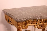 Giltwood Console From The 18th Century - Transition Period (louis XV-louis XVI) -france (7 of 13)