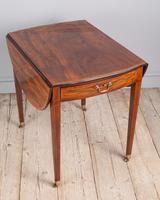 George III Oval Mahogany Pembroke Table (4 of 9)