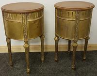 Two near identical louis XIV style bedsides (3 of 4)