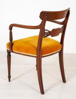 Set of 6 Sheraton Revival Dining Chairs (7 of 17)