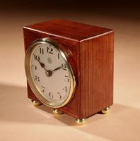 Early Electrical Ato Art Deco Small Desk / Mantel Clock (2 of 8)