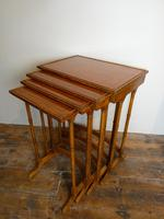 Satinwood Nest of Four Tables (2 of 7)