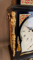 George III Ebonised Bracket Clock (13 of 15)