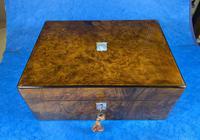 Victorian Jewellery Box in Burr Walnut (2 of 12)