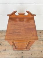 Antique Walnut Blind Panel Cupboard (2 of 8)