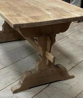Smaller French Farmhouse Bleached Oak Dining Table (6 of 17)
