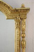 Victorian Gilt Large Overmantle Mirror (5 of 10)
