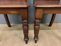 Good Pair of Victorian Walnut Hall Chairs (6 of 13)