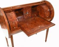 Art Deco Roll Top Desk & Chair Set 1920s (6 of 16)