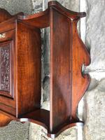 Antique Mahogany Wall Cabinet (7 of 10)