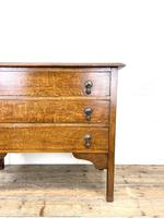 Early 20th Century Oak Chest of Drawers (3 of 9)