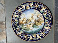 Italian Faience Urbino Style / Castelli  Charger