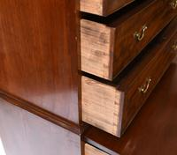 Georgian Chest on Chest Mahogany Antique 1820 (12 of 16)