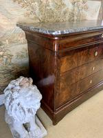 19th Century Marble Top Commode (3 of 8)