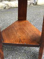 Pair of Arts & Crafts Oak Tables (7 of 9)