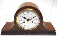 Good Napoleon Hat Shaped Mantel Clock – Striking 8-day Mantle Clock (2 of 11)