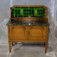 Edwardian Oak Washstand (2 of 9)