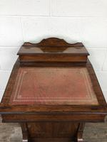 Late Victorian Inlaid Rosewood Davenport Desk (15 of 17)