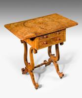 Regency Period Amboyna Work Table (4 of 8)
