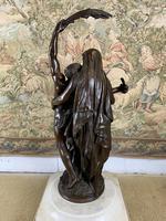 Stunning Large Bronze Group 'Gloria Patriae' by Eugene Marioton (8 of 9)