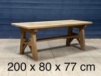 Scandinavian Style Bleached Oak Farmhouse Table (14 of 14)