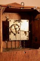 Small Very Stylish Blond Oak Wall Clock in Bauhaus Style (8 of 8)