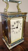 Attractive Small Brass French Carriage Clock (5 of 7)