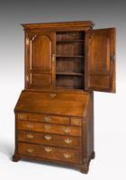 Late 18th Century Oak Bureau Cabinet (2 of 6)