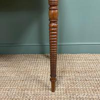 Regency Mahogany Antique Side Table (5 of 6)