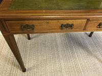 Victorian Inlaid Mahogany Writing Desk (13 of 20)