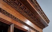 18th Century Oak & Mahogany Corner Cabinet (3 of 9)