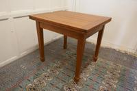 Blonde Mahogany Cottage Draw Leaf Table (7 of 8)