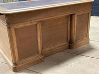 Quality 19th Century French Bleached Pedestal Desk (24 of 25)