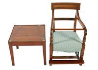 Georgian Mahogany Child's High Chair (4 of 8)