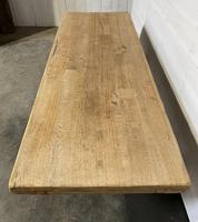 Rustic Bleached Oak Farmhouse Refectory  Table (12 of 21)