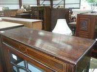 Small Edwardian Inlaid Mahogany Cabinet (4 of 4)