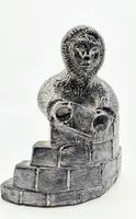 Vintage Wolf Original Inuit Nuvuk Canada Carved Soapstone Eskimo (3 of 5)