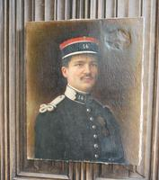 Oil Painting of a WW1 French Officer in Uniform (2 of 6)